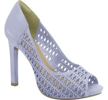 Ramarim High Heel Peeptoe with Cutouts 15-22253 in Lilac Heels Ramarim