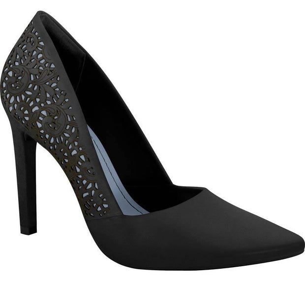 Ramarim 15-23106 Pointy Toe Pump in Black