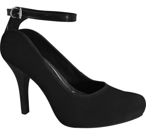 Ramarim 15-23253 Mid Heel Pump in Black