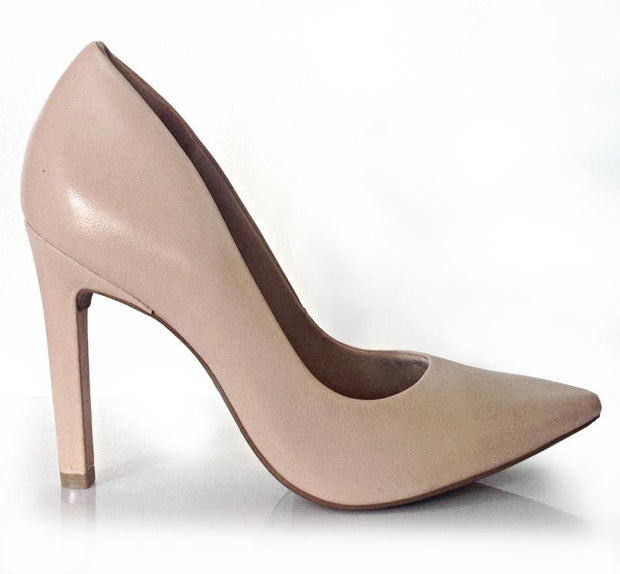 Ramarim 15-23272 Almond Leather Pointy Toe Pump
