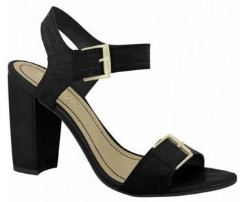 Ramarim 15-50201 Block Heel Sandal in Black