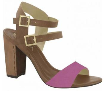 Ramarim 15-50203 Block Heel Sandal in Azaleia / Brown