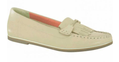 Ramarim 15-81206 Fringed Moccassin in Almond Napa