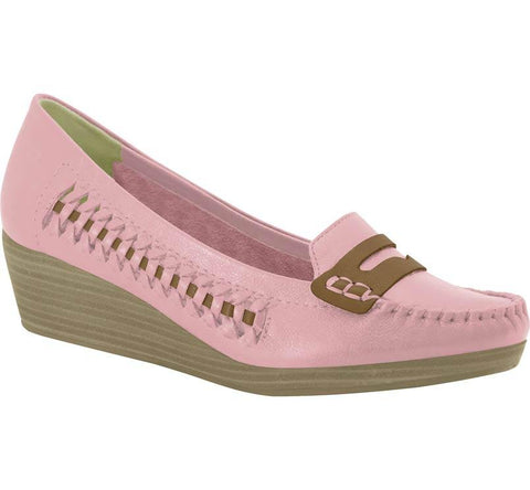 Ramarim 15-83103 Wedged Moccassin in Rose