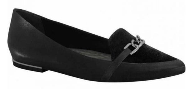Ramarim 15-84105 Black Pointy Toe Flatin Black