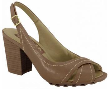 Ramarim 15-93201 Block Heel Sling Back Sandal in Brown