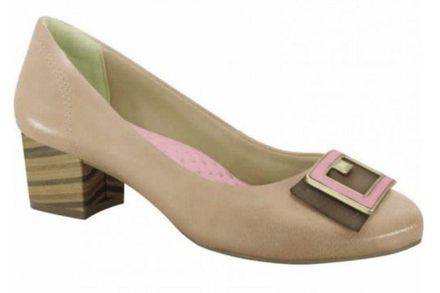 Ramarim 15-95103 Classic Low Heel Pump in Skin