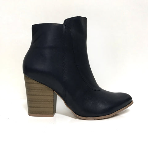 Ramarim 16-16153 Block Heel Ankle Boot in Indigo Napa