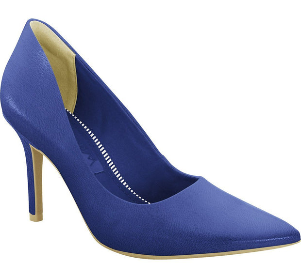 Ramarim 16-23251 Pointy Toe Pump in Blue Napa