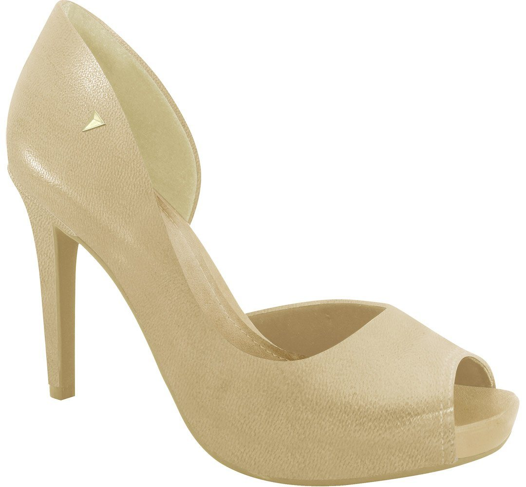 Ramarim 16-47251 High Heel DOrsey Peeptoe in Almond Napa