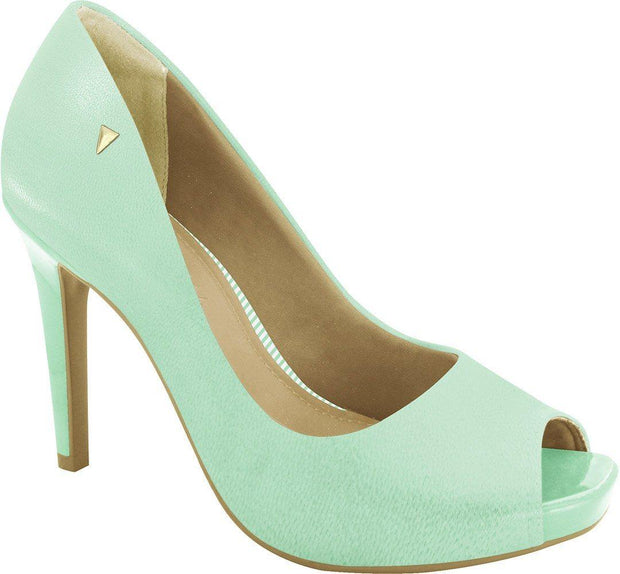 Ramarim 16-47252 High Heel Classic Peeptoe in Mint Napa