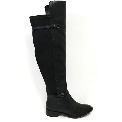 Ramarim 16-52103 Over-the-knee Long Boot in Black Leather