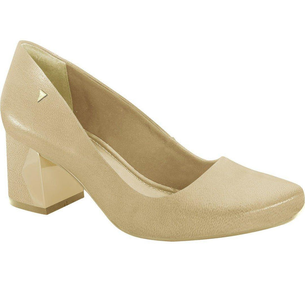Ramarim 16-95251 Low Heel Pump in Almond Napa