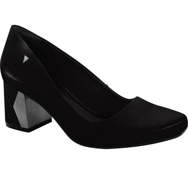 Ramarim 16-95251 Low Heel Pump in Black Napa
