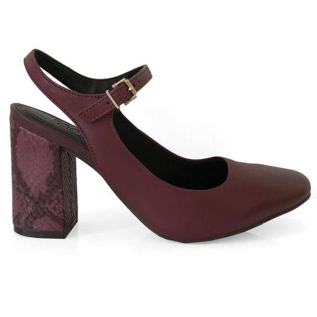 Ramarim 16-97151 Strappy Pump in Wine Heels Ramarim
