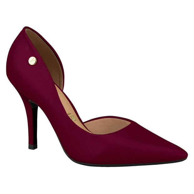 Vizzano 1184-1002 DOrsey Pointy Toe Pump in Wine Patent