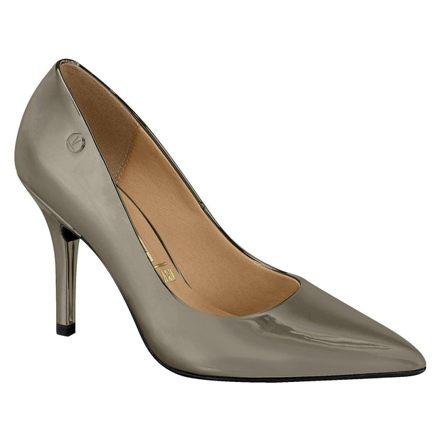 Vizzano 1184-101 Classic Pointy Toe Pump in Graphite