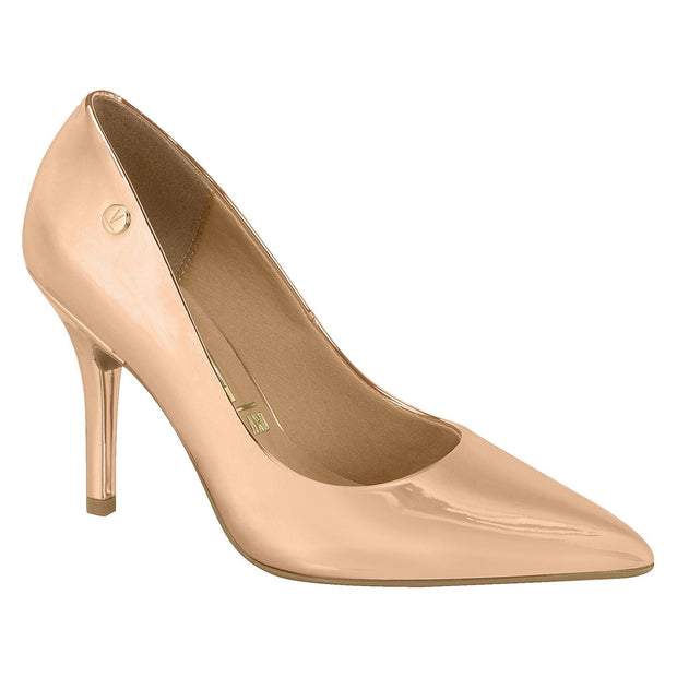 Vizzano 1184-101 Classic Pointy Toe Pump in Rose Gold