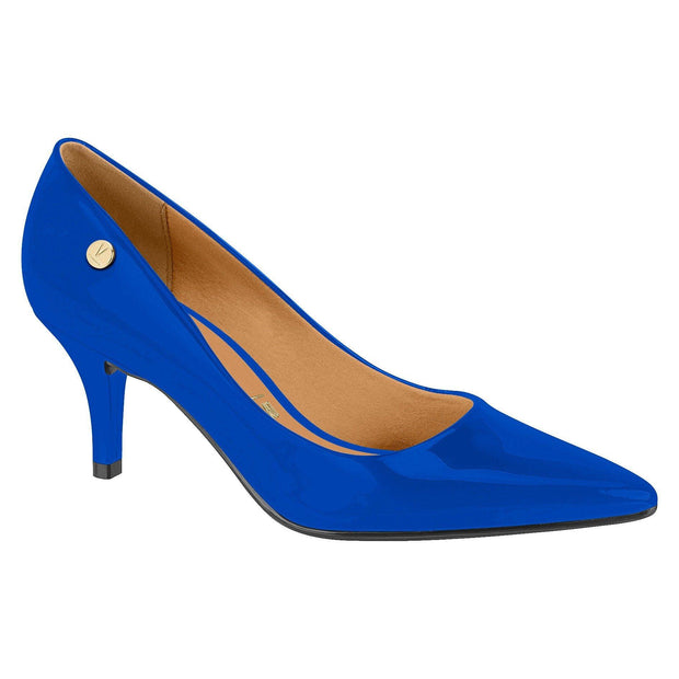 Vizzano 1185-102 Pointy Toe Pump in Blue Patent