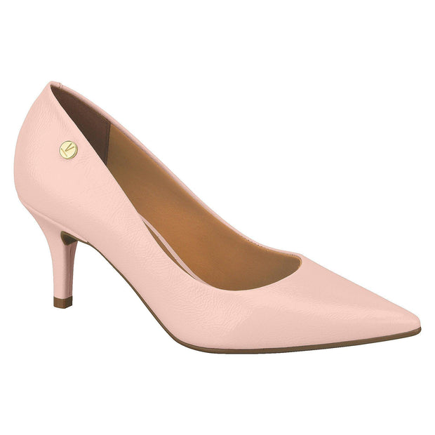 Vizzano 1185-102 Pointy Toe Pump in Soft Pink Patent