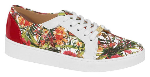 Vizzano 1214-208 Floral Sneaker in Multi Black
