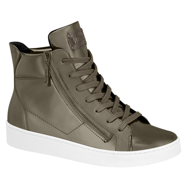 Vizzano 1214-214 Metallic Sneaker in Graphite