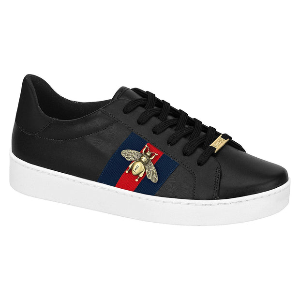 Vizzano 1214-260 Bumble-Bee Sneaker in Black Napa