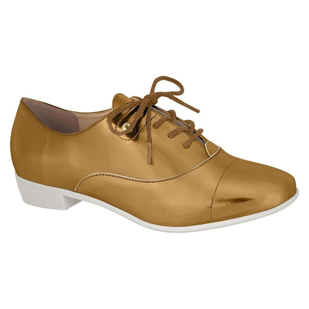 Vizzano 1229-100 Oxford Flat in Bronze Flats Vizzano