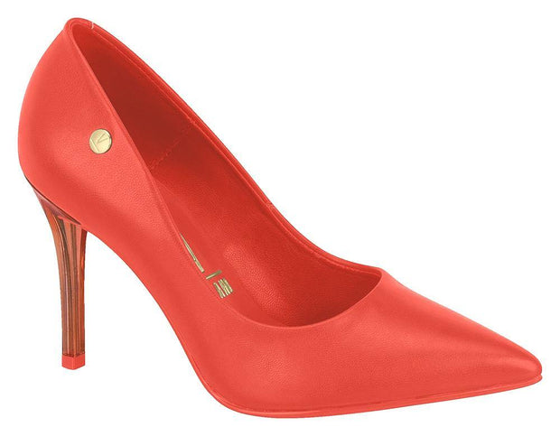 Vizzano 1230-100 Lucent Heel Stiletto in Coral Neon Napa