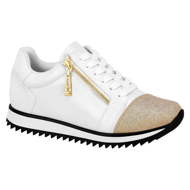 Vizzano 1234-111 Sneaker in White/Gold