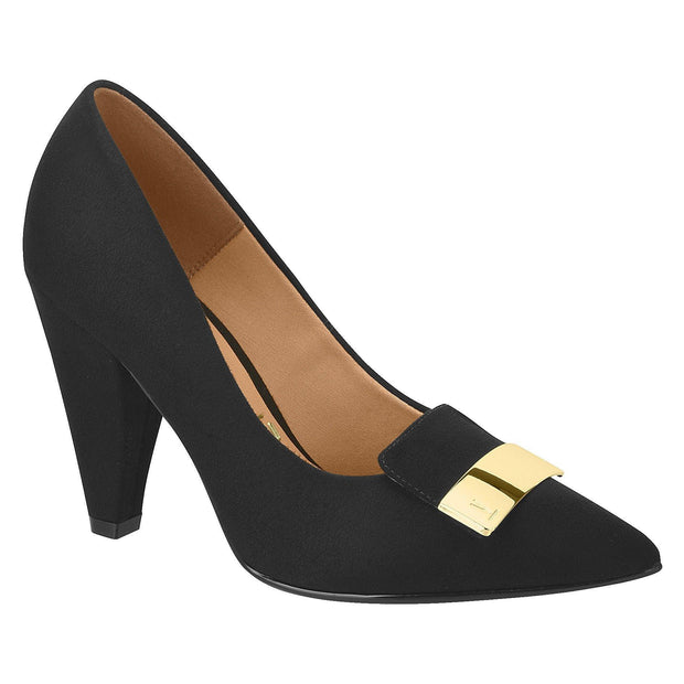Vizzano 1287-101 High Heel in Black Suede