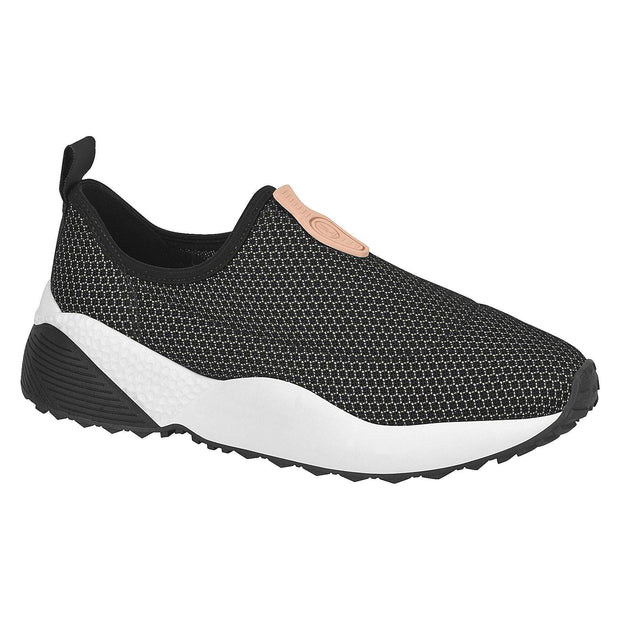 Vizzano 1296-100 Stretch Fabric Sneakers in Black
