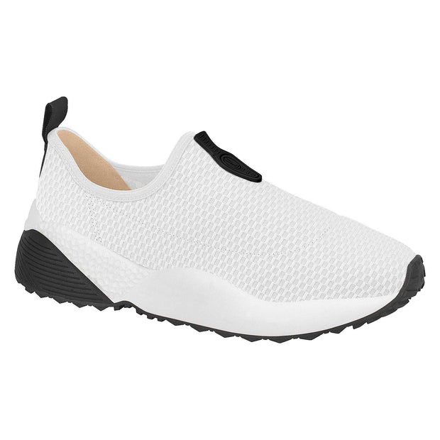 Vizzano 1296-100 Stretch Fabric Sneakers in White