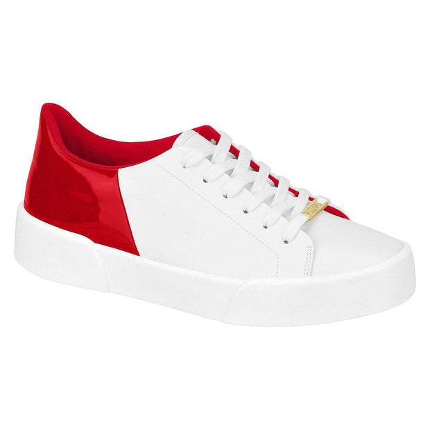 Vizzano 1299-100 Contrasting White and Red Sneakers