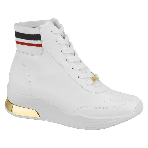 Vizzano 1304-109 High Top Sneaker in White Napa