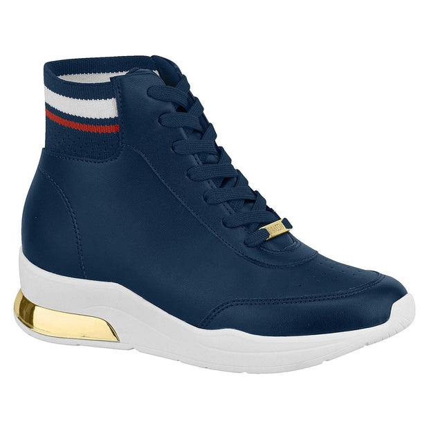 Vizzano 1304-109 High Top Sneaker in Navy Napa