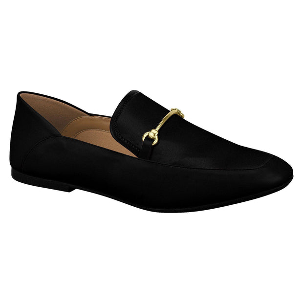 Vizzano 1313-101 Flat Loafer in Black Napa