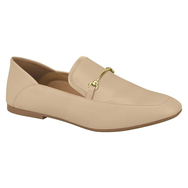 Vizzano 1313-101 Flat Loafer in Beige Napa
