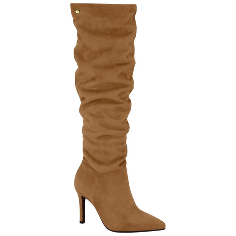 Vizzano 3049-226 Stiletto Boot in Caramel Suede