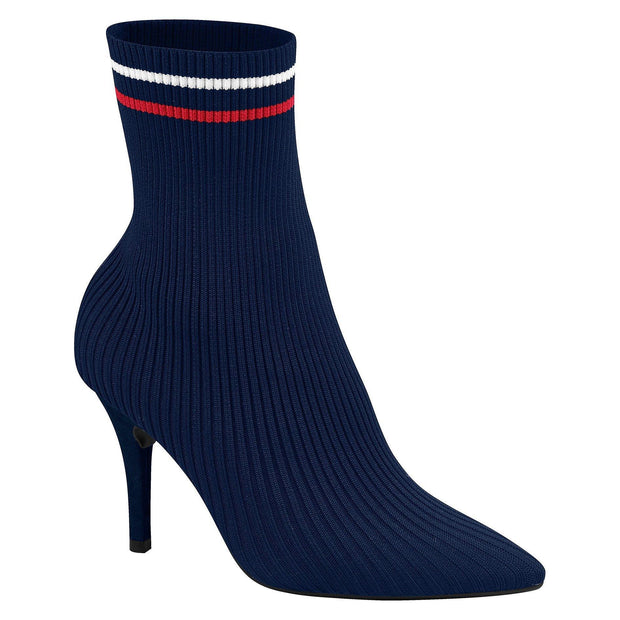 Vizzano 3061-104 Sock Boot in Navy Boots Vizzano