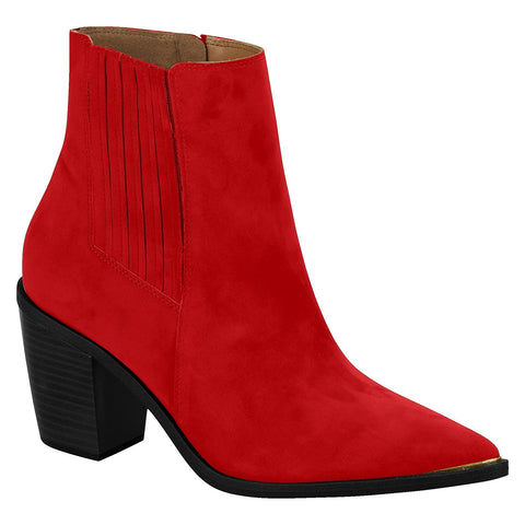 Vizzano 3070-101 Ankle Boots in Red