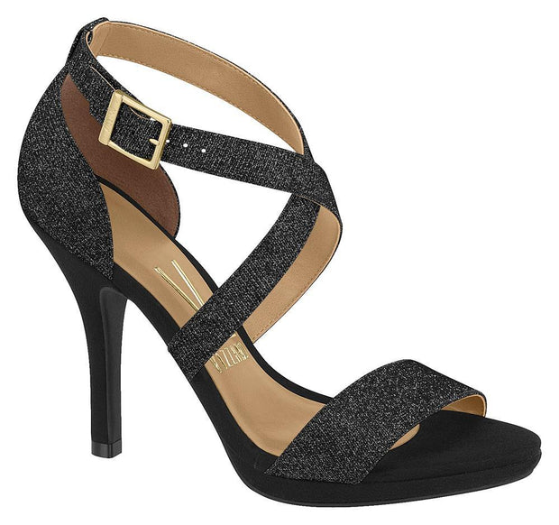 Vizzano 6210-431 Strappy Evening Sandal in Multi Black