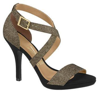Vizzano 6210-431 Strappy Evening Sandal in Multi Bronze