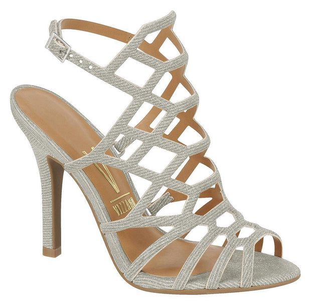 Vizzano 6249-233 Caged Sandal in Silver