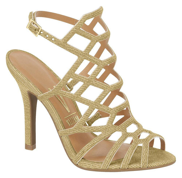 Vizzano 6249-233 in Multi Gold Sandals Vizzano