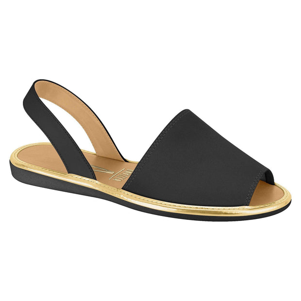Vizzano 6280-100 Slip-on Flat in Black