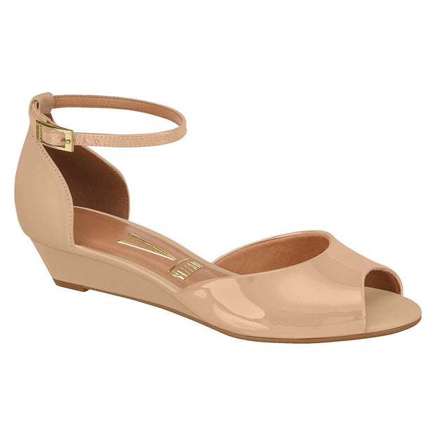 Vizzano 6285-111 Low Heel Wedge in Beige