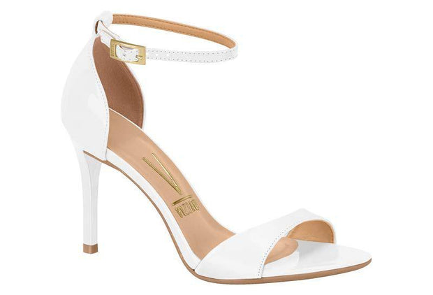 Vizzano 6306-106 High Heel Sandal in White Napa