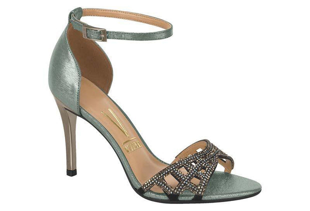 Vizzano 6306-312 High Heel Evening Sandal in Graphite