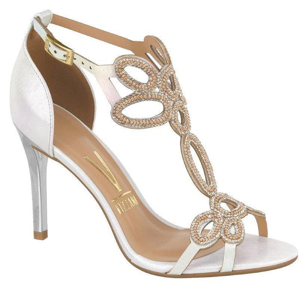 Vizzano 6306-314 High Heel Evening Sandal in Silver